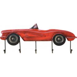 Kovový obraz Red Cabriolet