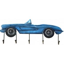 Kovový obraz Blue Cabriolet