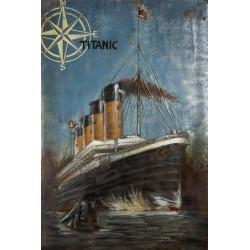 Kovový obraz 120x80 Titanic I.