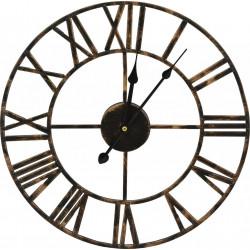 Kovové nástenné hodiny DED5168A