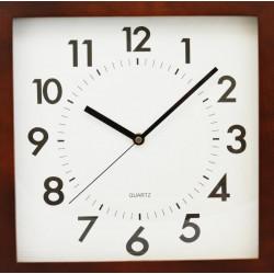 Drevené nástenné hodiny DEQ280