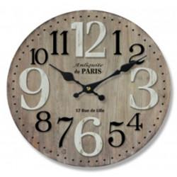 Drevené nástenné hodiny DEB6285