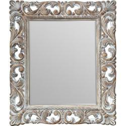 Zrkadlo 130,5x109 cm Fazetka