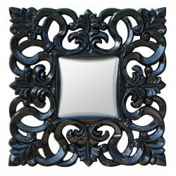 Zrkadlo 76x76 cm Čierne Eso