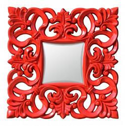 Zrkadlo 76x76 cm Červené Eso