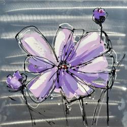 Maľovaný originál 60x60 Detská kresba