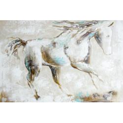 Maľovaný originál 80x120 Rýchlosť koňa