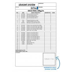 DECO RAIL  - objednávaci formulár