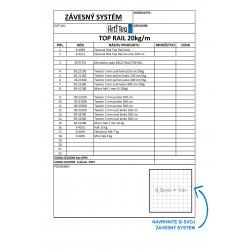 TOP RAIL - objednávaci formulár