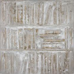 Maľovaný Originál 100x100 Knižnica