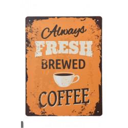 Plechové cedule 30x40 Čerstvá káva