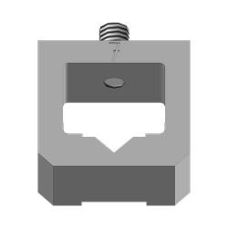Hlava na spony 7mm (na UNI sponkovačky)