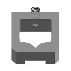 Hlava na spony 10mm (na UNI sponkovačky)
