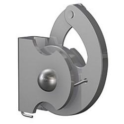 Hák (proti zlodejom) 4x4 mm 100 kg