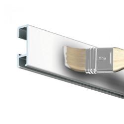 Závesná lišta biela pretierateľná 300 cm