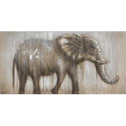 Maľovaný originál 140x70 Obdobie dažďov