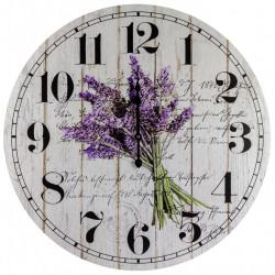Drevené nástenné hodiny BLD34107