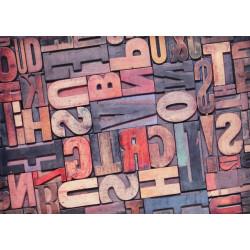 Obraz na plátne 50x70 Slová
