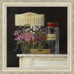 Rámovaný obraz 40x40cm Antiquites
