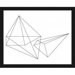 Rámovaný obraz Nordic Style 24x30