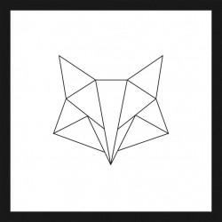 Rámovaný obraz Nordic Style 30x30