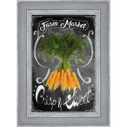 Rámovaný obraz Farmers Market 20x30