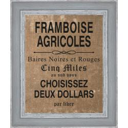 Rámovaný obraz Farmers Market 24x30