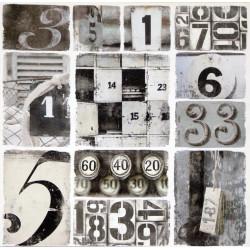 Obraz na plátne 70x70 Čísla