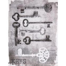 Obraz na plátne 30x40 Staré kľúče