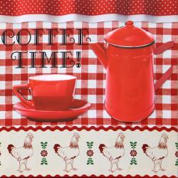 Obraz na plátne 40x40 3D Čas na kávu