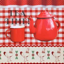 Obraz na plátne 40x40 3D Čas na čaj