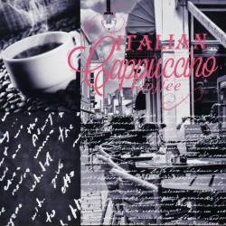 Obraz na plátne 40x40 Italian  káva 1
