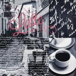 Obraz na plátne 40x40 Italian  káva 3