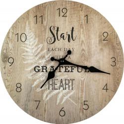 Drevené nástenné hodiny BL193004