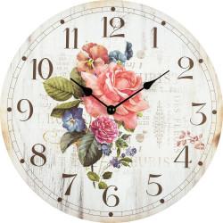 Drevené nástenné hodiny BL203047