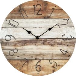 Drevené nástenné hodiny BL193266A