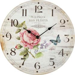 Drevené nástenné hodiny BL203048