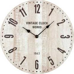 Drevené nástenné hodiny BL203005A