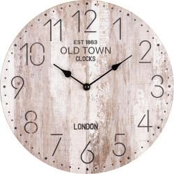 Drevené nástenné hodiny BL203012A
