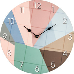 Drevené nástenné hodiny BLH30098