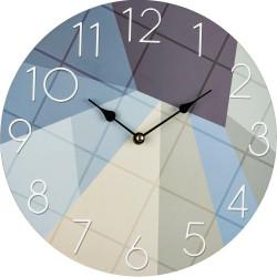Drevené nástenné hodiny BLH30099