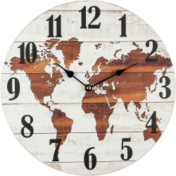 Drevené nástenné hodiny BLH300101