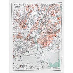 Obraz na plátne 75x100  Mapka NY