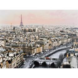 Obraz na plátne 75x100 Paríž na dlani