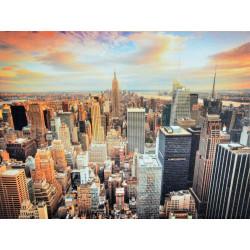 Obraz na plátne 75x100 New York z vtáčej perspektívy