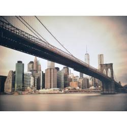 Obraz na plátne 75x100 Pod mostom