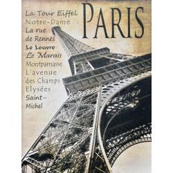 Obraz na plátne 75x100 Krásy Paríža