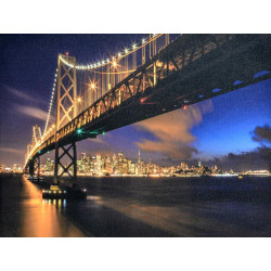 Obraz na plátne 75x100 Most z New Yorku I.