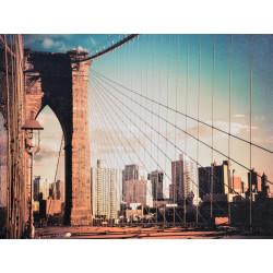 Obraz na plátne 75x100 Most z New Yorku II.