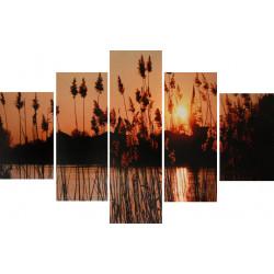 Obraz 5x  60x90cm Na vidieku